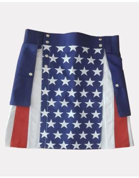 American Flag Kilt For Women - Liberty Kilts