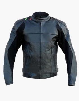 Bike Racing Leather Jacket with Free CE Armors