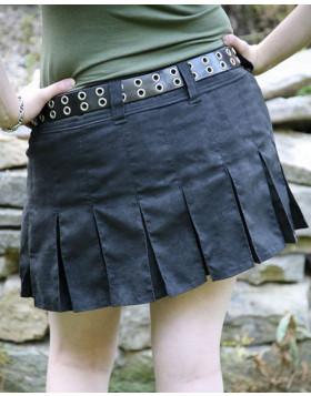 Mini Black Utility Kilt For Women - Liberty Kilts