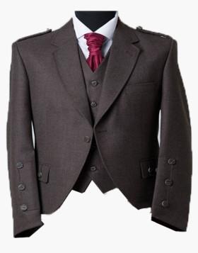 Brown Clunie Tweed Jacket & Waistcoat
