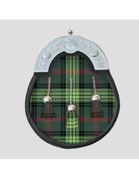 Scottish Full Dress Tartan Sporran- Tartan Sporran For Sale - Liberty Kilts