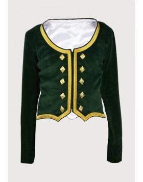 Ladies Highland Dancing Jacket Velvet