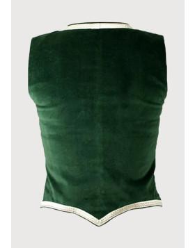 Green Highland Dance Vest