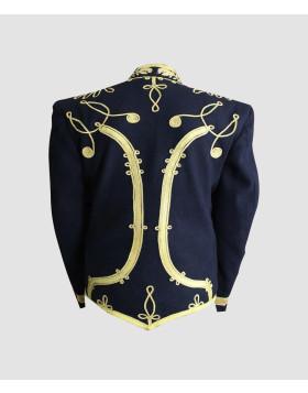 Hussars Military Dolman Gilt Braid Collar Aiguillette Jackets Coats Vests - Liberty Kilts