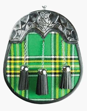 Irish National Full Dress Tartan Sporran