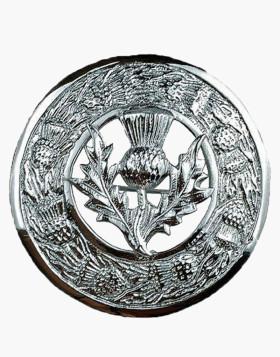 Kilt Plaid Brooch Thistle Crest Thistles Border Kilt