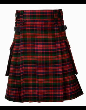 Macdonald Tartan Highland Cargo Kilt Liberty Kilts