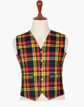Man Scottish Choose your Clan Buchanan Tartan Vest