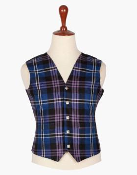 Man Scottish pride of Scotland Tartan vest