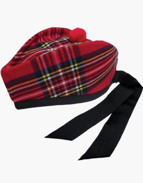Man Scottish Royal Stewart Kilt Cap - Liberty Kilts