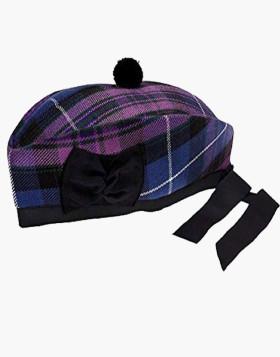 Man Scottish UK Pride Wool Glengarry Kilt Cap - Liberty Kilts