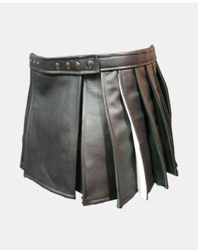 Leather Hybrid Kilt For Women - Liberty Kilts