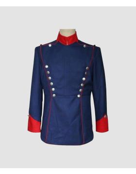 Napoleon Jacket Navy Blue Blazer Wool - Liberty Kilts