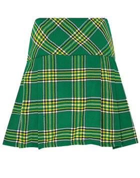 New Ladies Scottish Mini Billie Kilt Mod Skirt