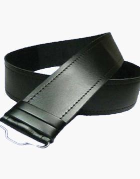 Plain Leather Kilt Belt - Leather Belt For Kilt - Liberty Kilts