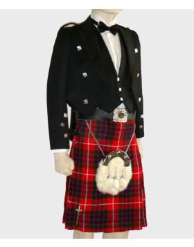 Prince Charlie Kilt Outfit With Fraser Tartan
