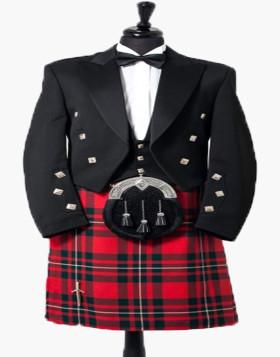 Prince Charlie Kilt Outfit Starter Package