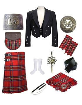 Prince Charlie Kilt Outfit Deal
