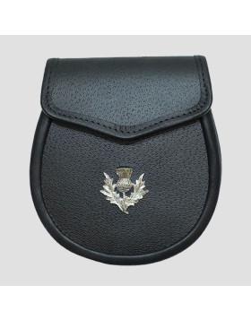 Traditional Pure Leather Sporran - Leather Sporran - Liberty Kilts