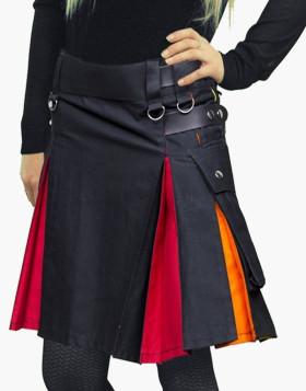 Rainbow Utility Kilt For Women - Liberty Kilts
