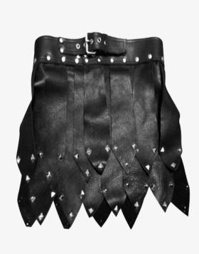 Roman Style Leather Kilt For Men