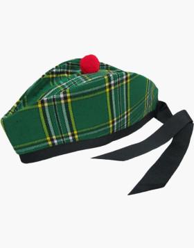 Scottish Irish Tartan Glengarry Kilt Cap - Liberty Kilts