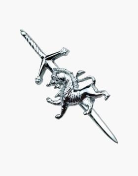 SCOTTISH RAMPANT LION KILT PIN