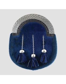 Scottish Seal Blue Sporran - Sporran For Sale - Liberty Kilts