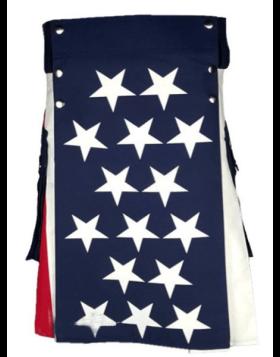 Liberty New American Flag Kilt